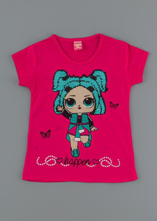 Детска тениска с кукла
