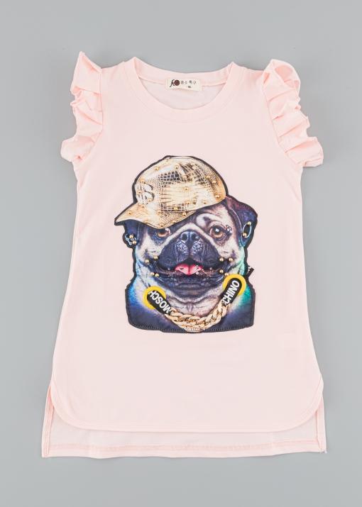 Детска тениска с куче