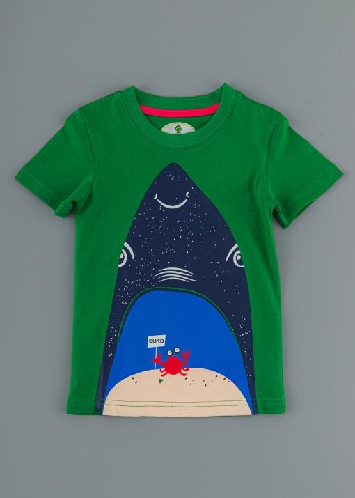 Детска тениска с риба