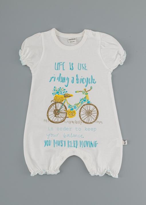 Бебешко боди с колело
