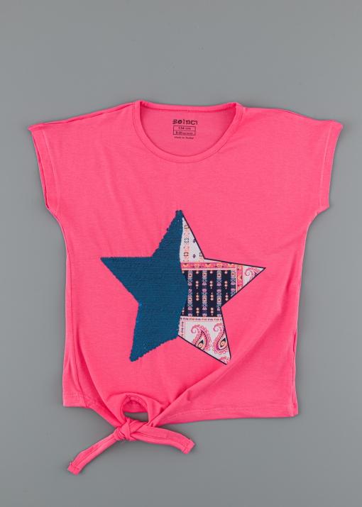 Детска тениска със звезда