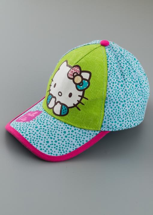 Детска шапка с козирка
