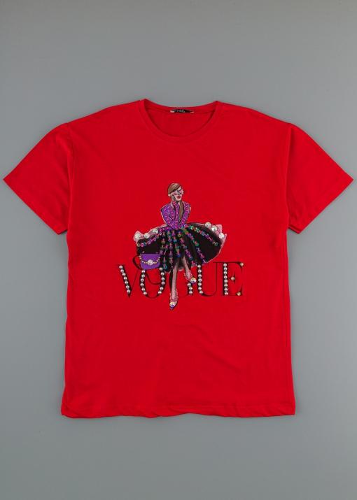 Юношеска тениска с момиче