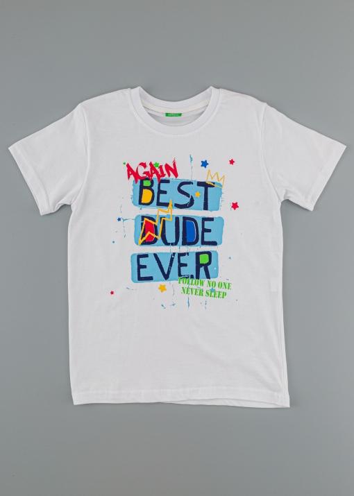Бебешка тениска с надпис