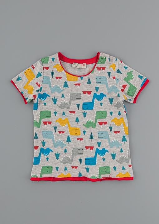 Бебешка тениска с динозаври