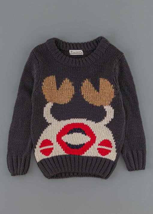 Детски пуловер с раче