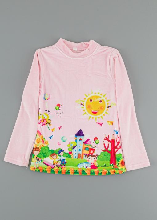 Детска блуза с деца