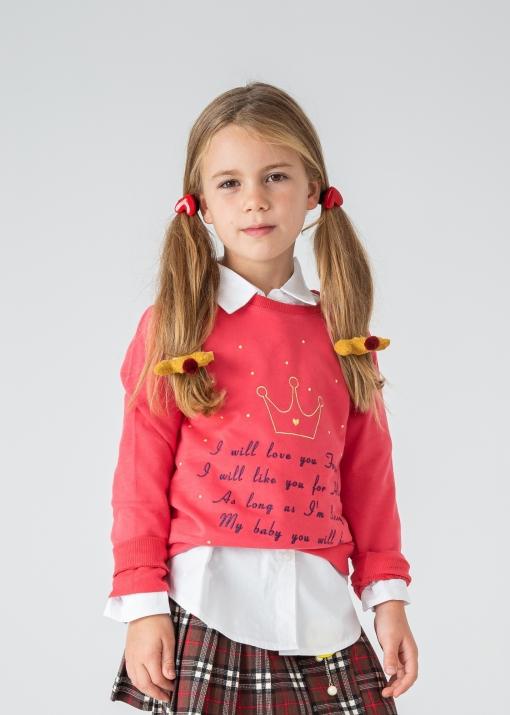 Детска блуза с надпис