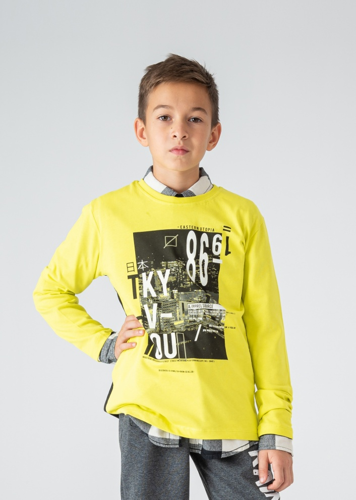 Детска блуза с надписи