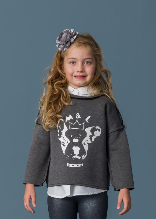 Детска неопренова блуза с куче