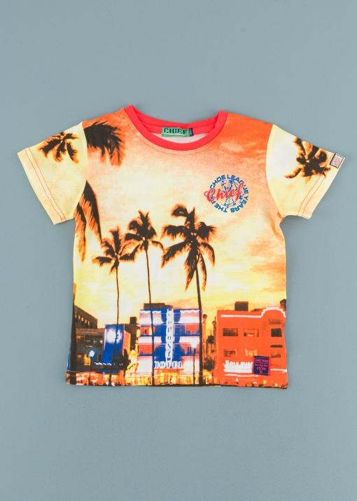 Детска тениска с палми