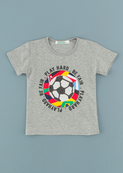 Детска тениска с пайети