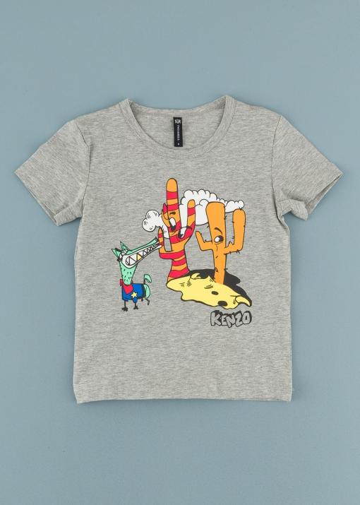 Детска тениска с кактуси