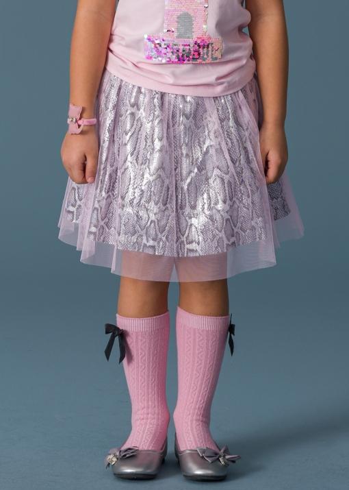Детска пола с тюл