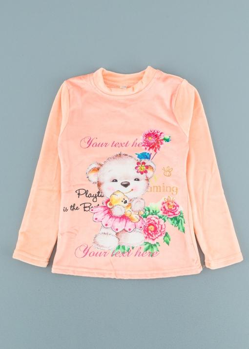 Детска плюшена блуза