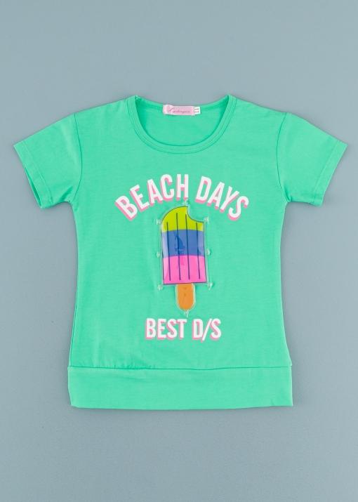Детска тениска със сладолед