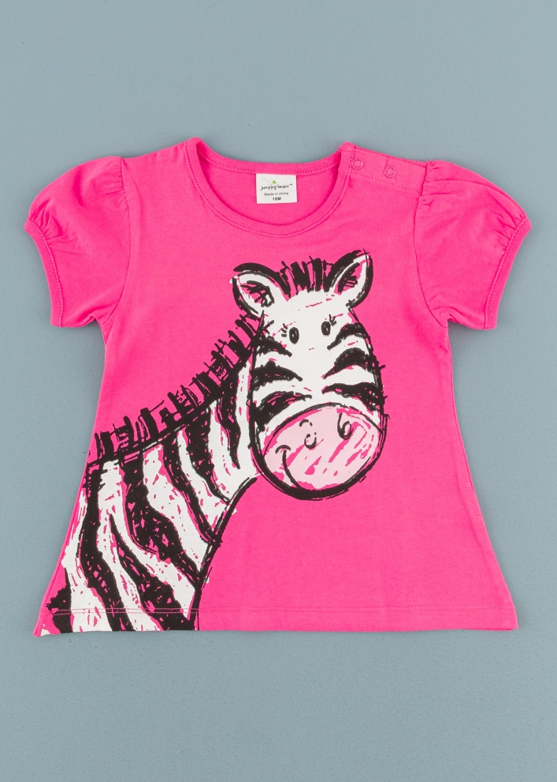 Детска туника със зебра