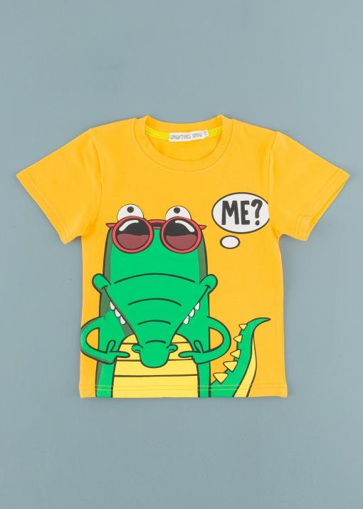 Детска тениска с крокодил