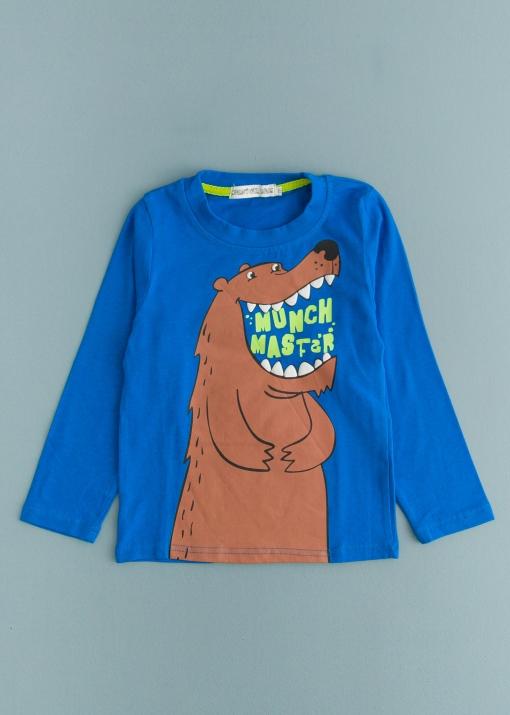 Детска блуза с мечка