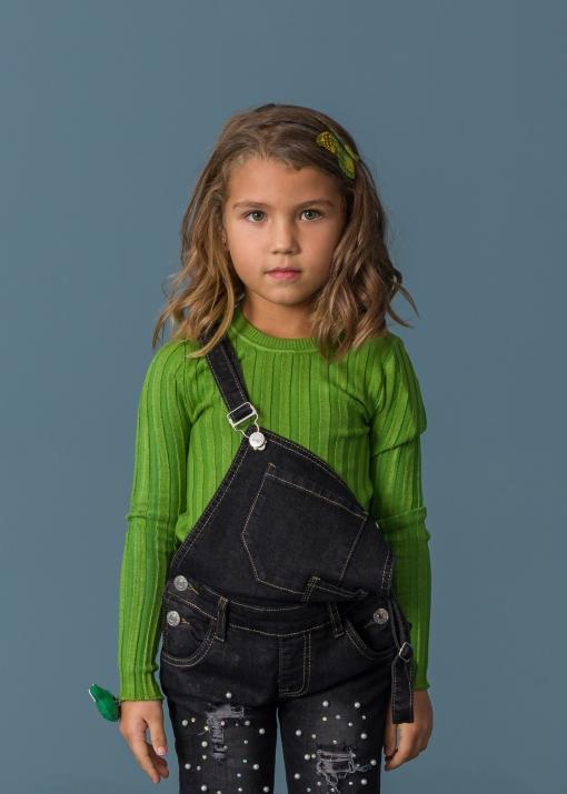 Детска едноцветна блуза