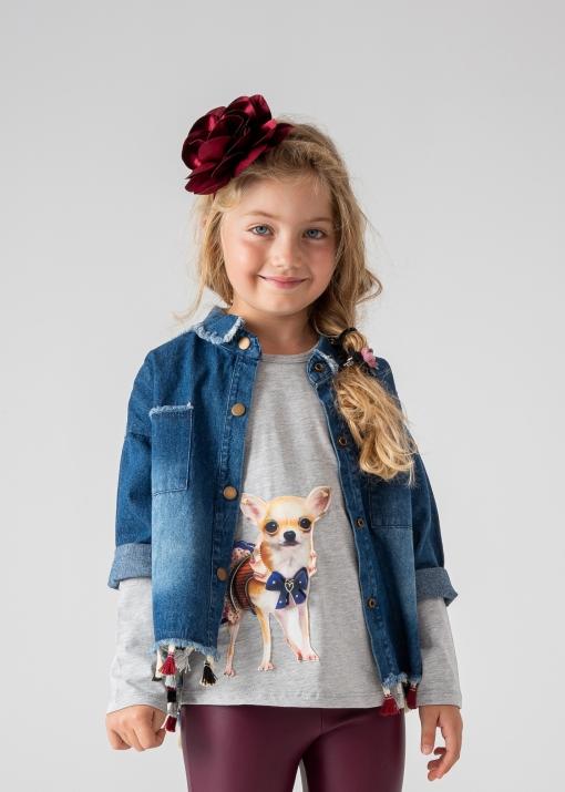 Детска блуза с куче