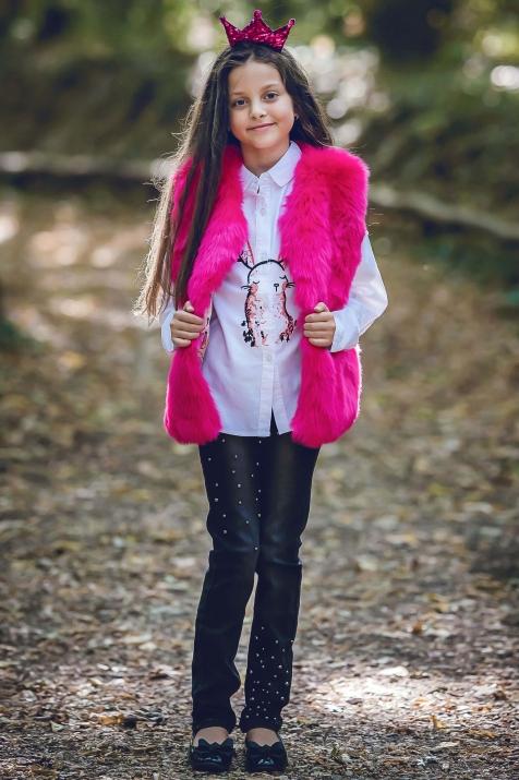 Детска риза със зайче