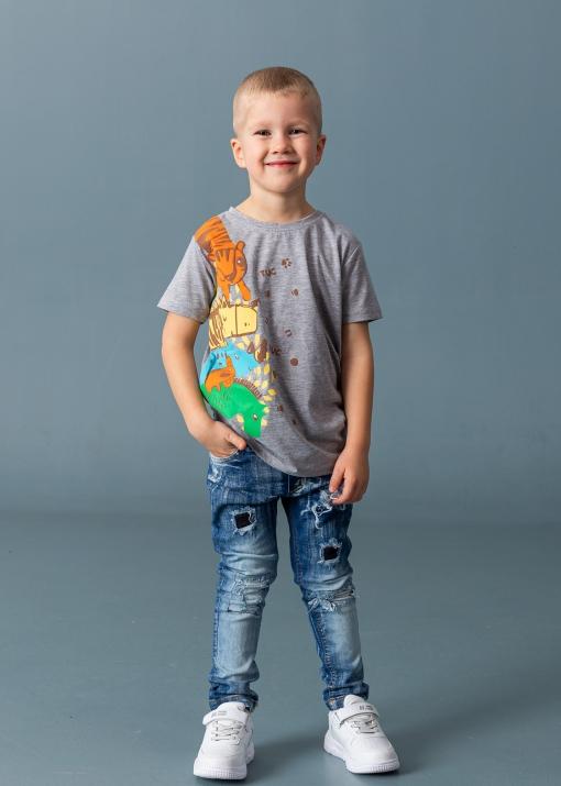 Бебешка тениска с динозавър