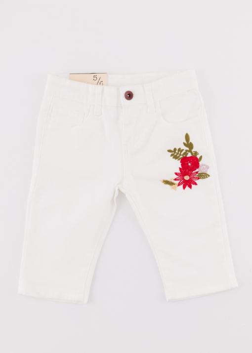 Детски панталон с бродерия
