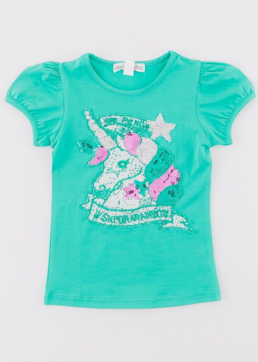 Детска тениска с еднорог