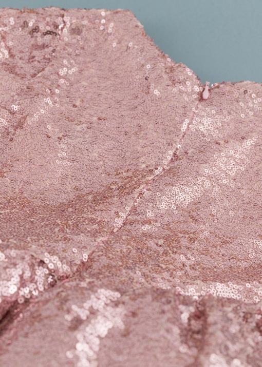 Детска официална рокля с рози
