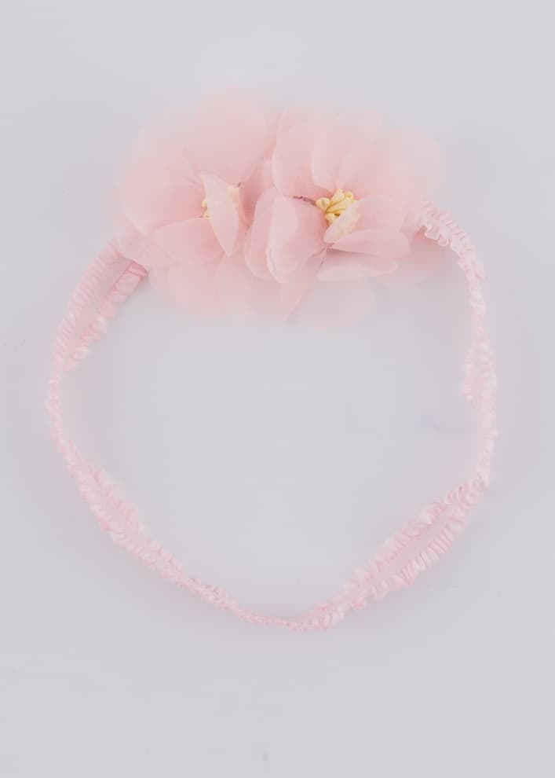 Детска лента за коса с цветя