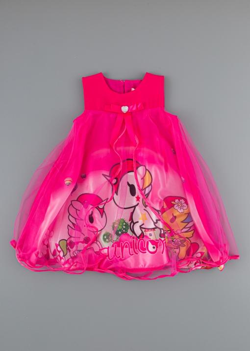 Детска рокля с еднорог