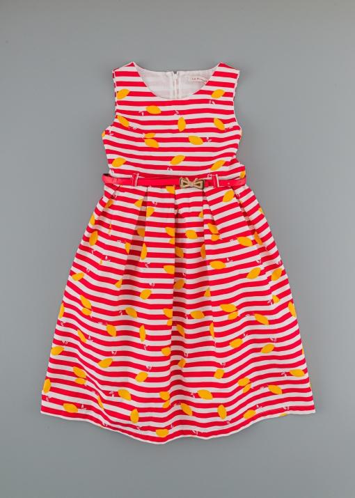 Детска раирана рокля