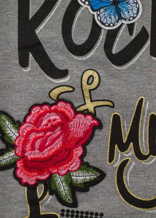 Бебешки пуловер без ръкави с куче