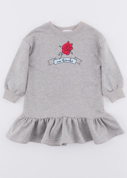 Детска туника с роза