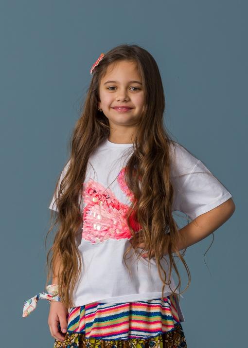 Детска тениска с лебед