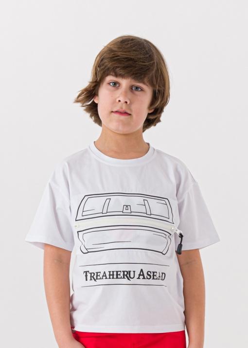 Детска тениска с цип