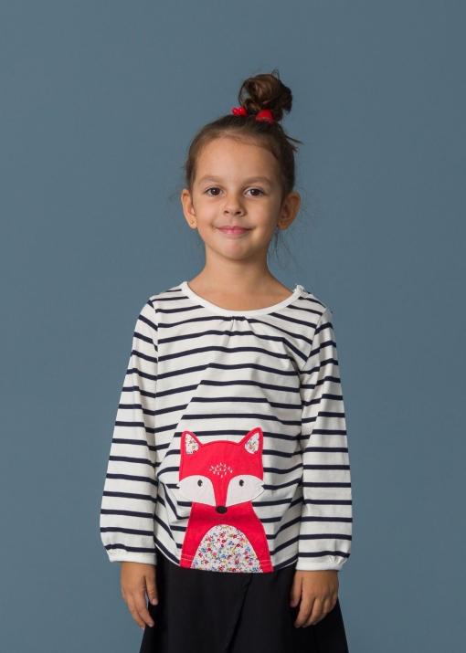 Детска блуза с лисиче