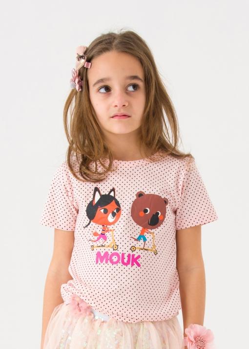 Детска тениска на точки