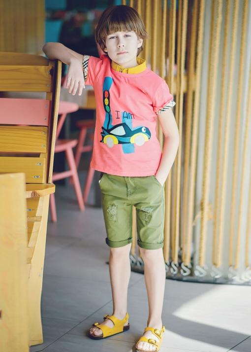 Детска тениска с цифра