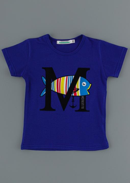 Детска тениска с рибка