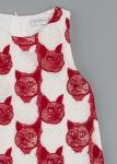 Детска рокля с котки