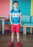 Детски едноцветен панталон