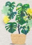 Детска тениска с цвете