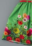 Детска официална рокля на цветя