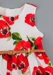 Детска рокля с цветя